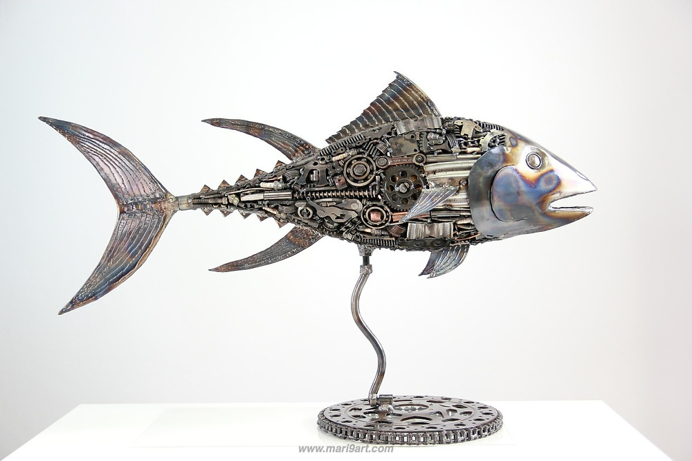 Tuna sculpture
