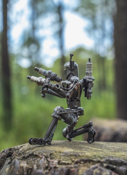 starwar movie metal sculpture by mari9art