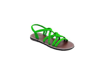 sandals for women vicky design all green color by nittynice 2