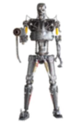 Terminator metal art sculpture