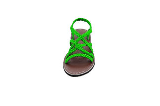 sandals for women vicky design all green color by nittynice 3