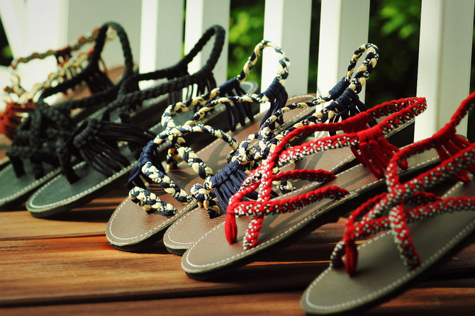 Fall in love My Sandals