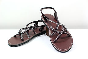 sandals for women ava design brown color by nittynice