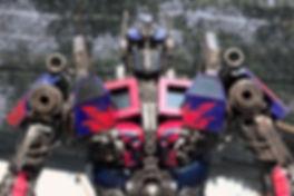 Optimus steampunk metal art