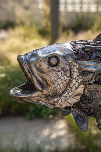 animal metal art sculpture by mari9art-1