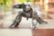 zoom optimus prime scrap metal sculpture body