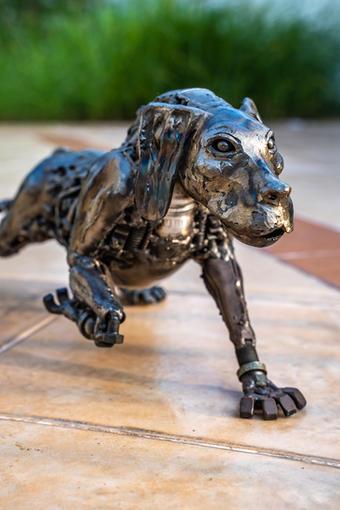 dog metal art mari9art sculpture-2.jpg