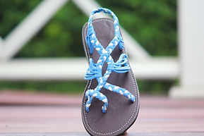 sandals for women blue color by nittynice