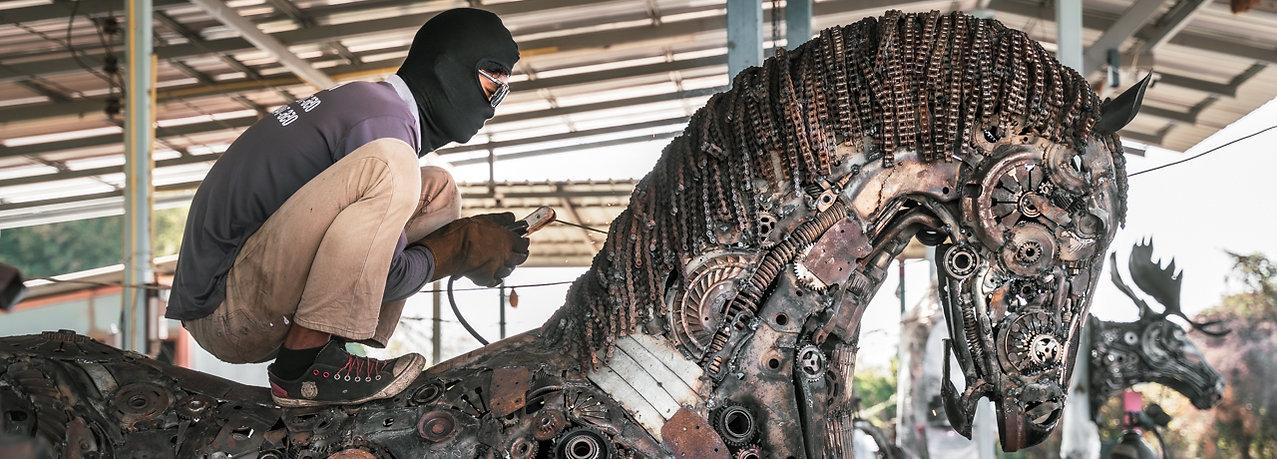 Horse scrap metal art sculpture.jpg
