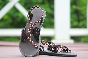 sandals for women bobby design coffee brown color by nittynice