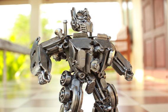30cm optimus prime scrap metal sculpture body