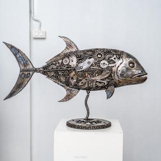 Jack fish metal