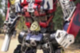 Optimus metal art body