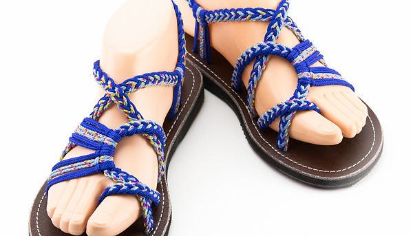 sandals for women zindy design blue color by nittynice