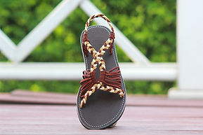 sandals for women bobby design brown color by nittynice