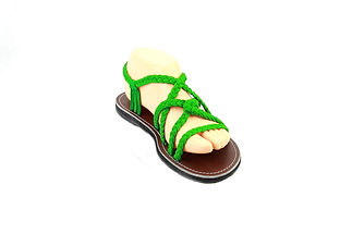 sandals for women kai design green color by nittynice2