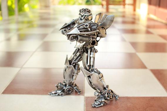 30cm Bumblebee scrap metal sculpture body