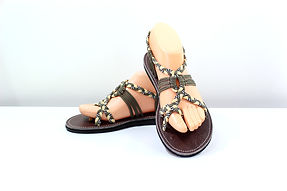 sandals for women abby design grey color by nittynice