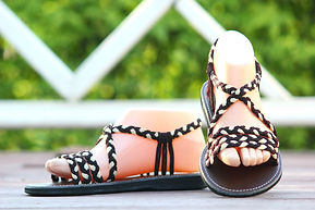 sandals for women fairy design brown color by nittynice