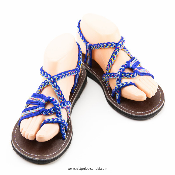 All designs braided sandals by Nittynice