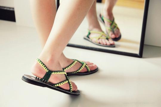 Summer shoes - Braided sandal