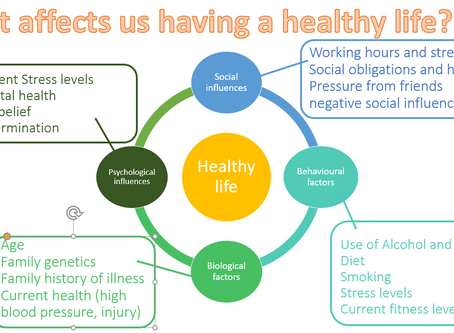 How do we go about living a healthy life?