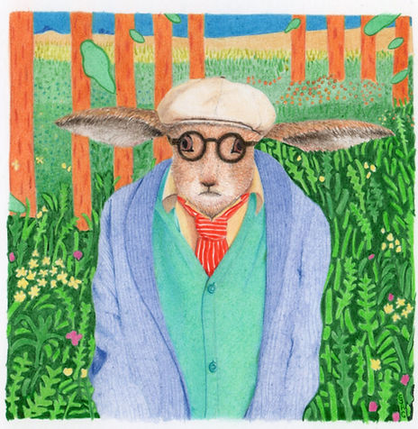 Hockney Hare