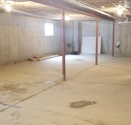 BASEMENT AFTER CLEANING