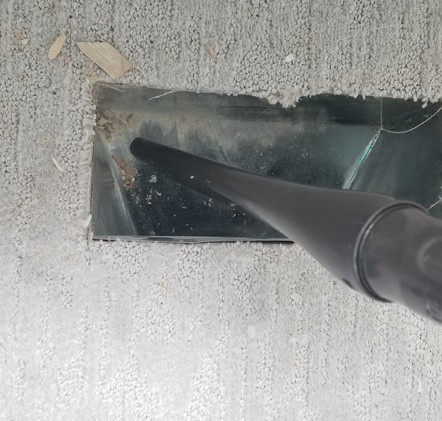 AIR VENT CLEANING PROCESS