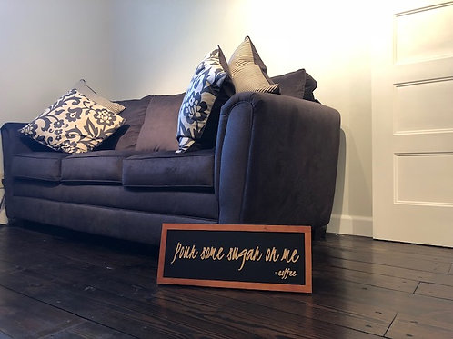 Customize Your Sign with a cherry frame