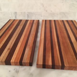 Walnut and Cherry Cutting Boards