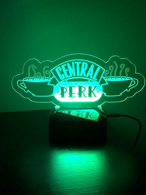 Central Perk themed night light