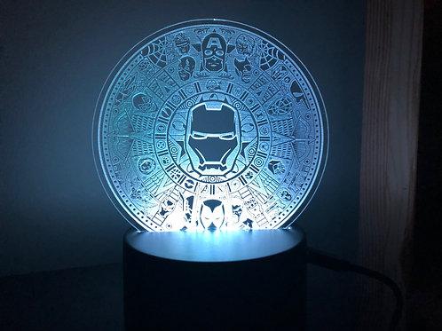 Superhero Aztec Calendar