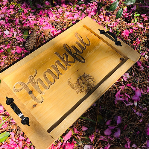 Thankful Serving Tray