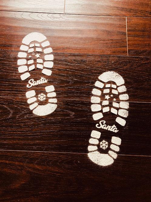 Santa Claus Feet Template