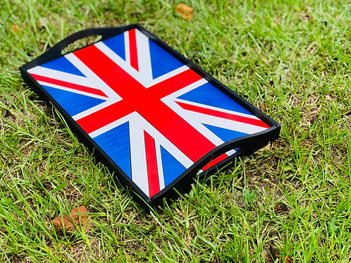 Flag Themed Serving Tray
