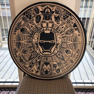 Marvel Aztec Calendar