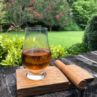 Glen Cairn Whiskey Glass & Cigar Holder