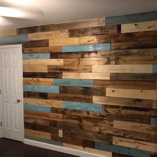 Custom Pallet Walls