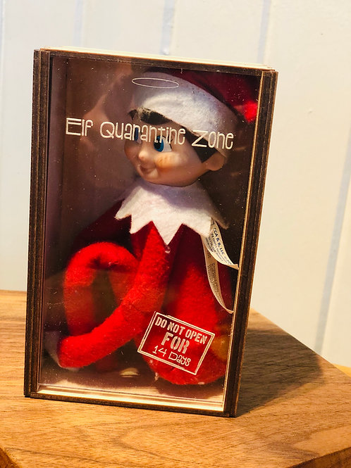 Elf on the Shelf Quarantine Box