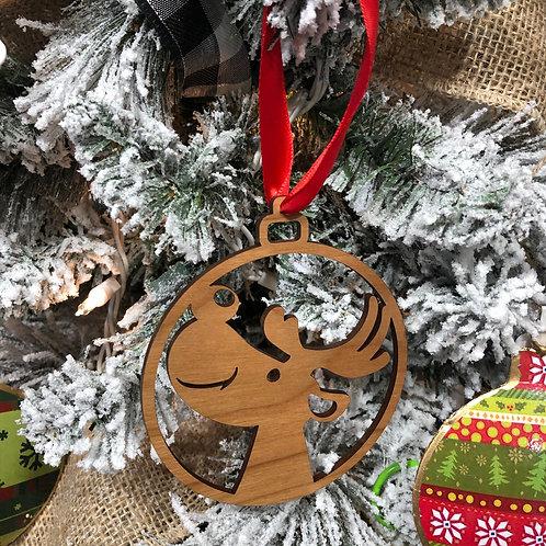 Cherry Christmas Ornaments