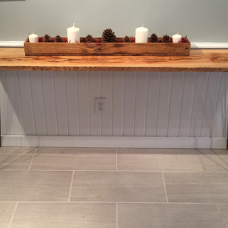 Pecky Cypress Console Table