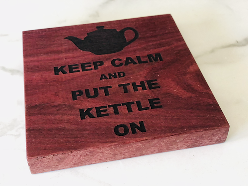 Keep Calm Tea Pot Stand