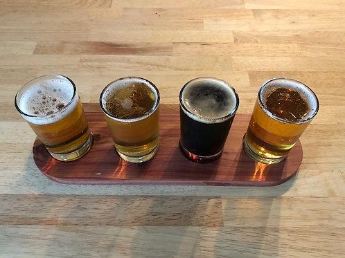 Red Cedar Beer Flight