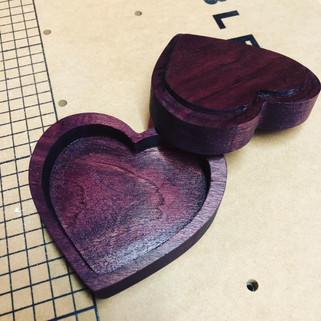 Purple Heart Jewerly Box