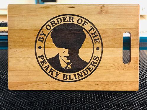 Peaky Blinders Cherry Cutting Board
