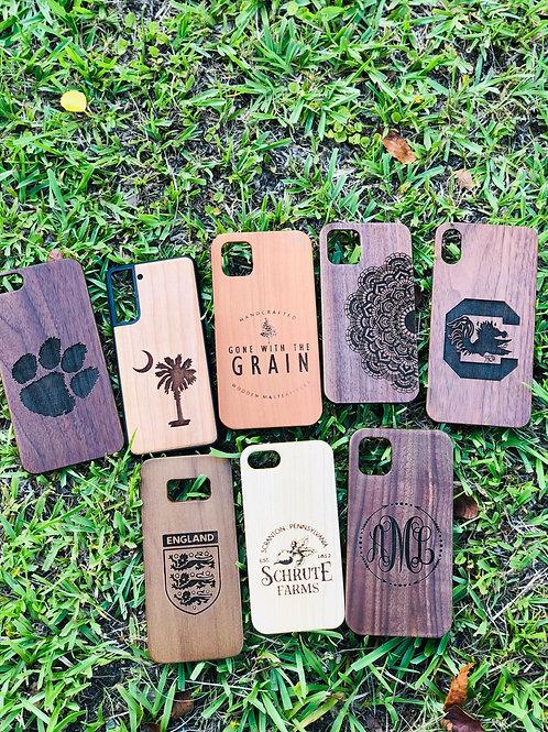 Personalized Wooden Phone Case