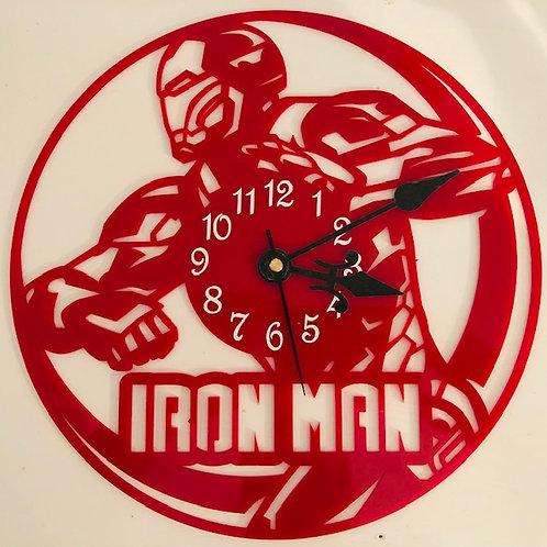 Iron Man Inspired Wall Clock