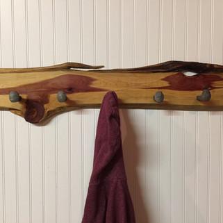 Red Cedar Coat Rack