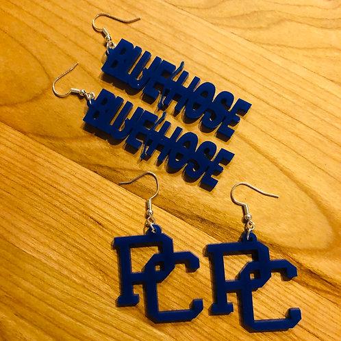 Bluehose Earrings